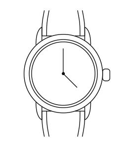 Годинник CHRISTINA 300CSBL - Дека
