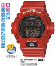 Casio GD-X6900RD-4ER