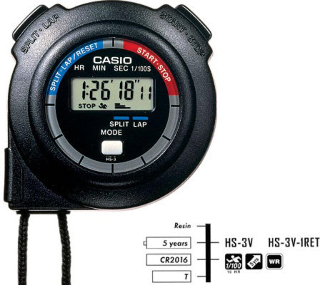 Карманные часы Casio HS-3V-1RET