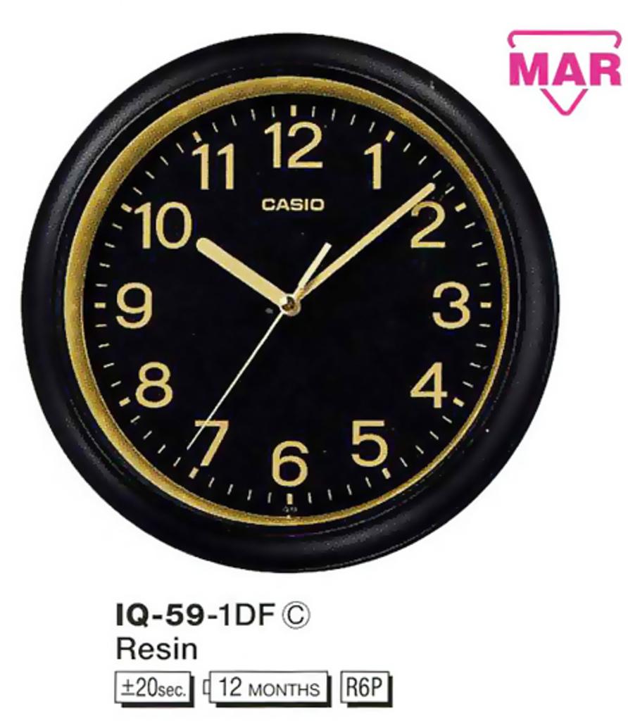 Настенные часы Casio IQ-59-1DF