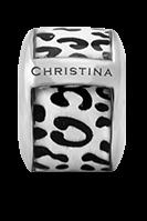 Купить Шармы, Шарм CC - Leopard 630-S30-3White, Christina Charms
