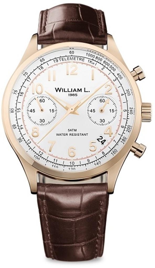 Мужские часы William L. WLOR01BCORCM