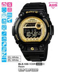 Часы CASIO BLX-100-1CER - Дека