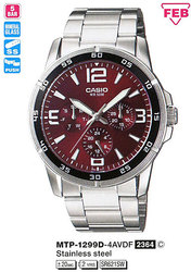 Часы CASIO MTP-1299D-4AVDF - Дека