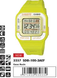 Часы CASIO SDB-100-3AEF - Дека