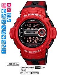 Часы CASIO GD-200-4ER - Дека