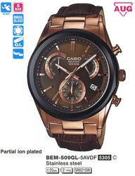Часы CASIO BEM-509GL-5AVEF - Дека