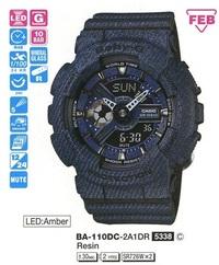 Часы CASIO BA-110DC-2A1ER - Дека
