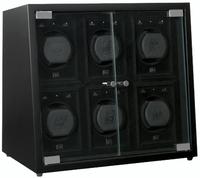 Коробка для завода часов Beco 309328 (черная) - Дека