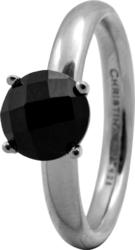 Кольцо CC 800-3.1.A/55 Black Onyx silver  - Дека