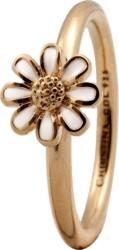 Кільце CC 800-1.9.B/55 Marguerite enamel goldpl. - Дека