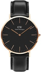 Часы Daniel Wellington DW00100127 Black Sheffield 40 - Дека