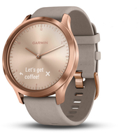 Смарт-часы Garmin Vivomove HR, WW, Premium, Rose Gold-Gray, One-Size - Дека