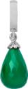 Christina Charms hangers - green onyx drop 610-S01Green