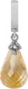Christina Charms hangers - citrine drop 610-S01Citrine