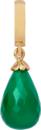 Christina Charms hangers - green onyx drop 610-G01Green