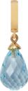 Christina Charms hangers - sky topaz drop 610-G01Sky