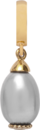 Christina Charms hangers - grey pearl drop 610-G08Grey