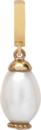 Christina Charms hangers - white pearl drop 610-S08white